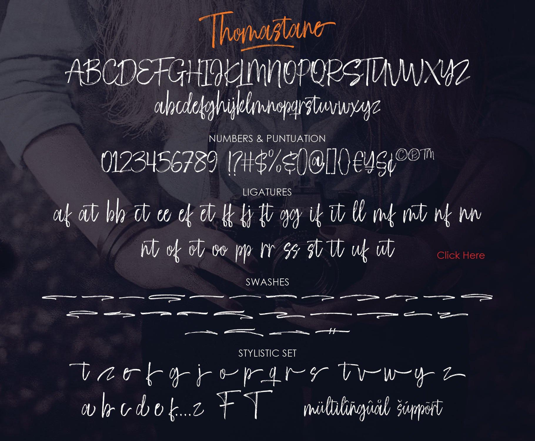Thomastane Font example image 14