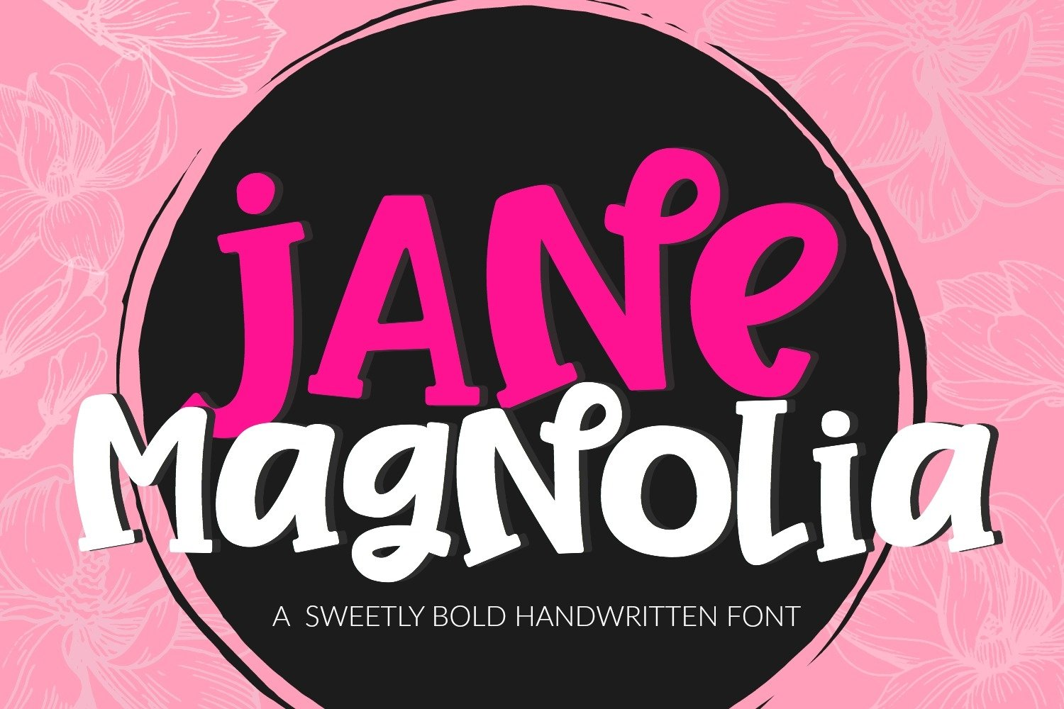 Handwritten Font Bundle for Crafters- 6 Cut Friendly Fonts example image 3