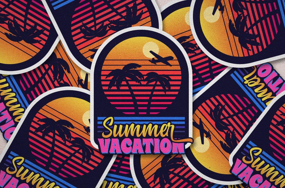 Summer Fruit - Logo Font example image 10