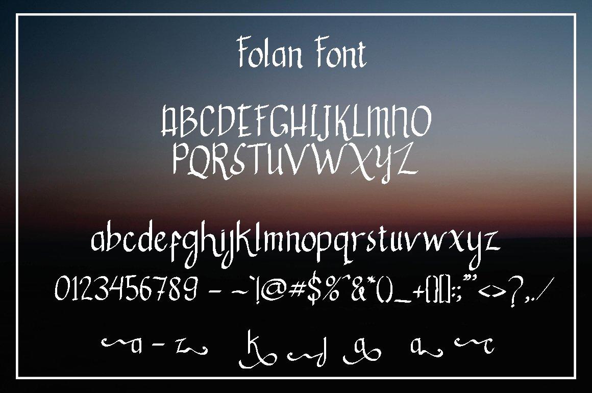 Fulan - Handmade Font  example image 3