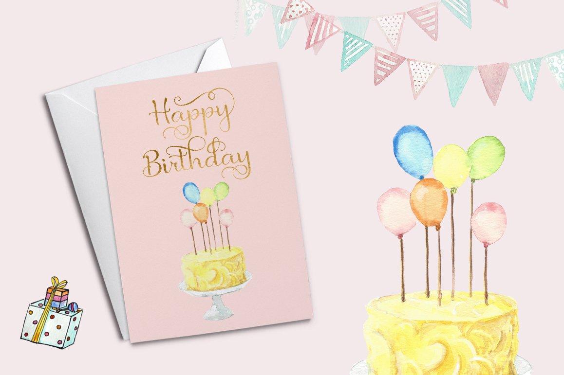 Birthday Script Font example image 8
