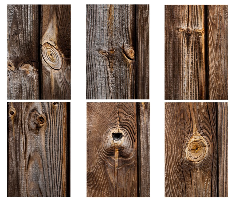 Wood Fence Panel Knots example image 2