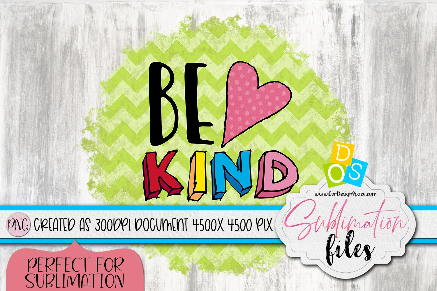 Be Kind PNG File Image for Crafters example image 1