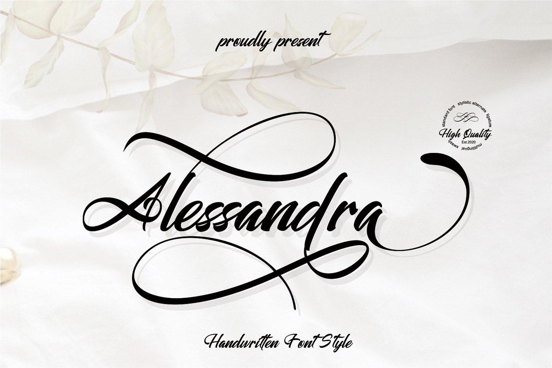 Alessandra example image 1