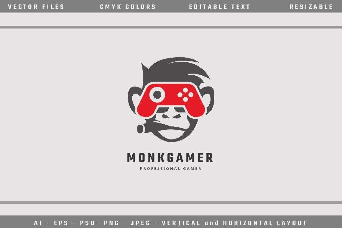 Monkey Gamer Logo example image 2