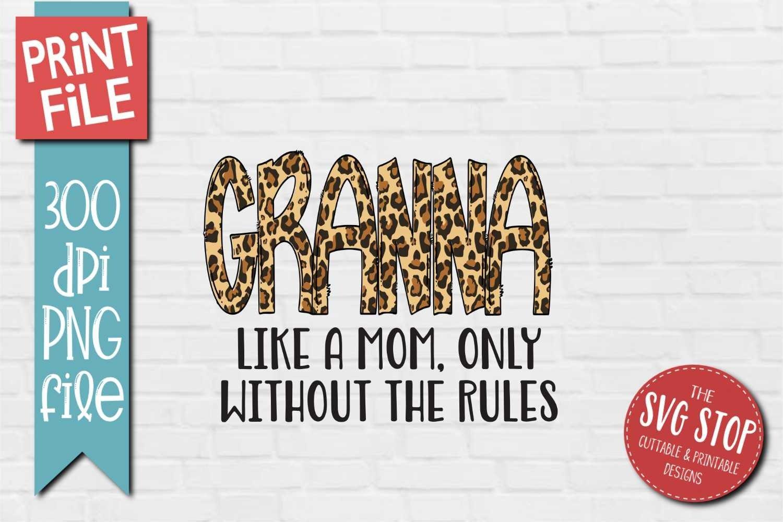 Download Granny Grandma Sublimation Design Png Cheetah Print 533128 Sublimation Design Bundles