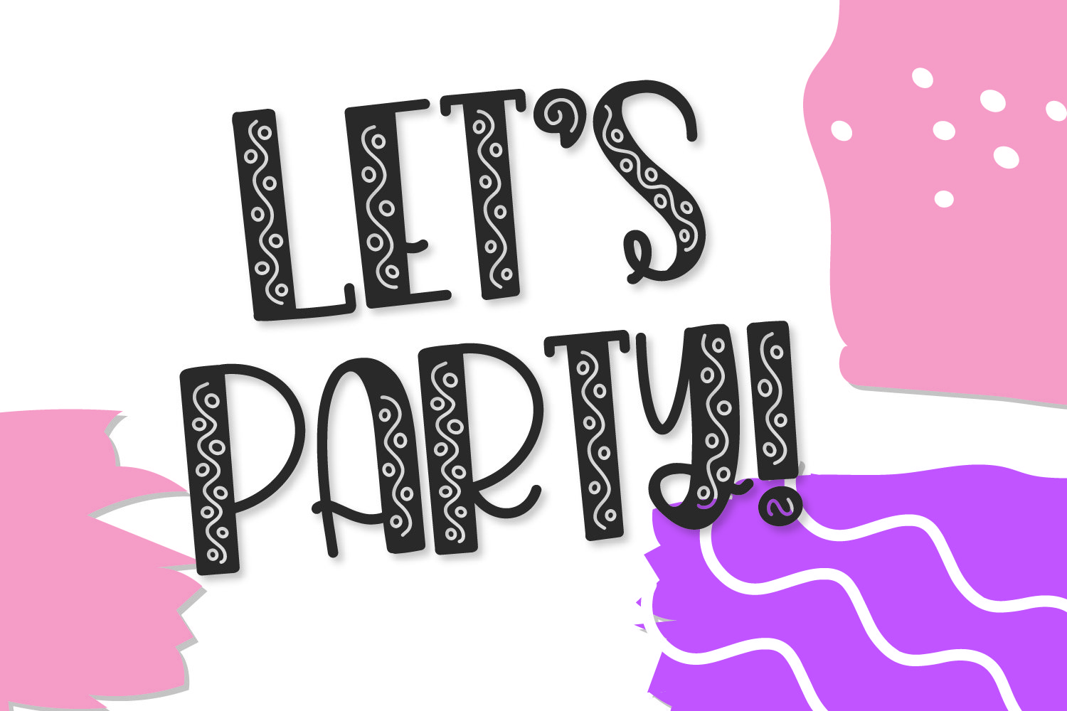 Angsty - A Party Font! example image 5