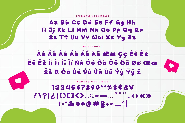 Banaspati Display Font example image 5