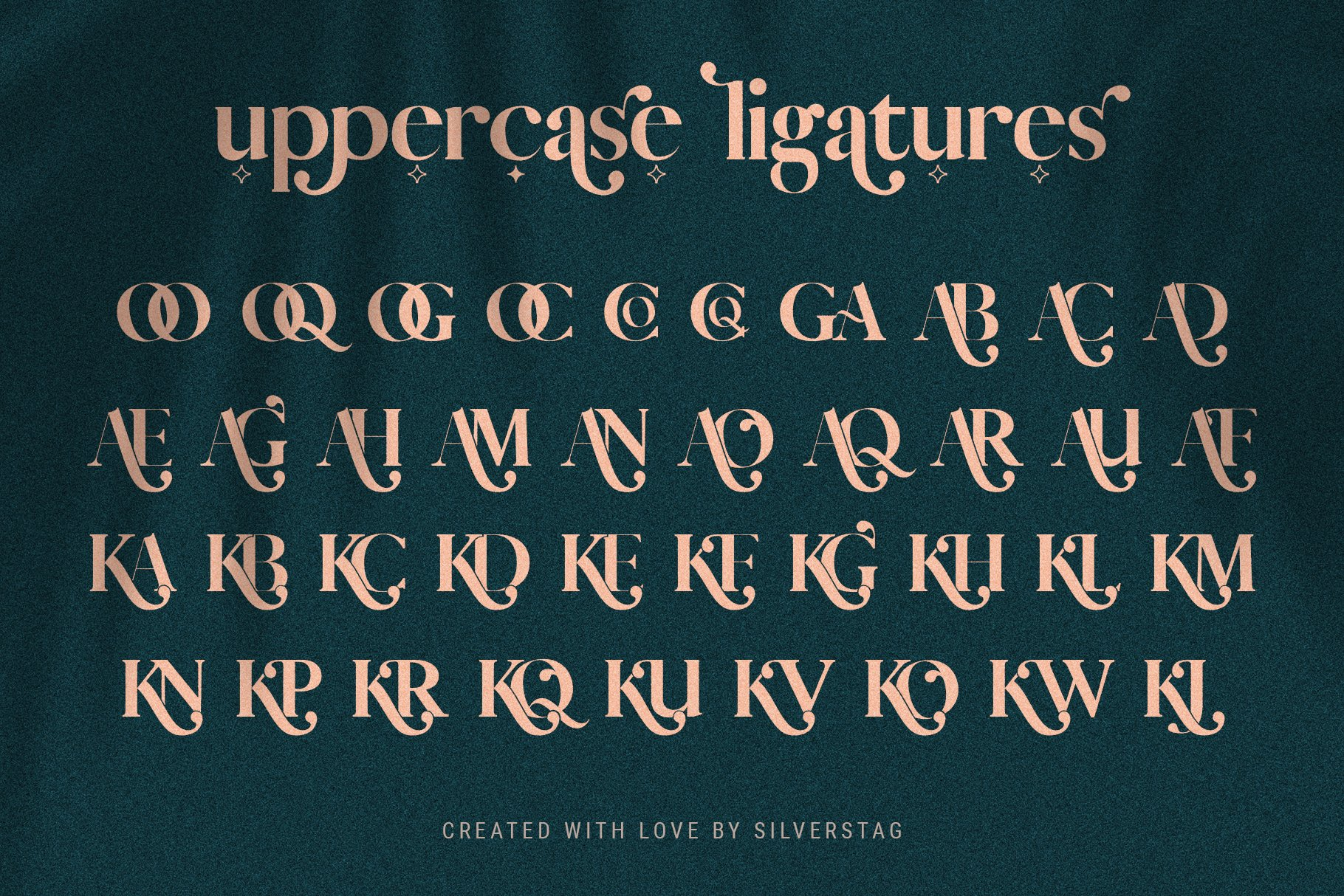 Vicky Christina - Chic & Stylish Ligature Serif Font example image 3