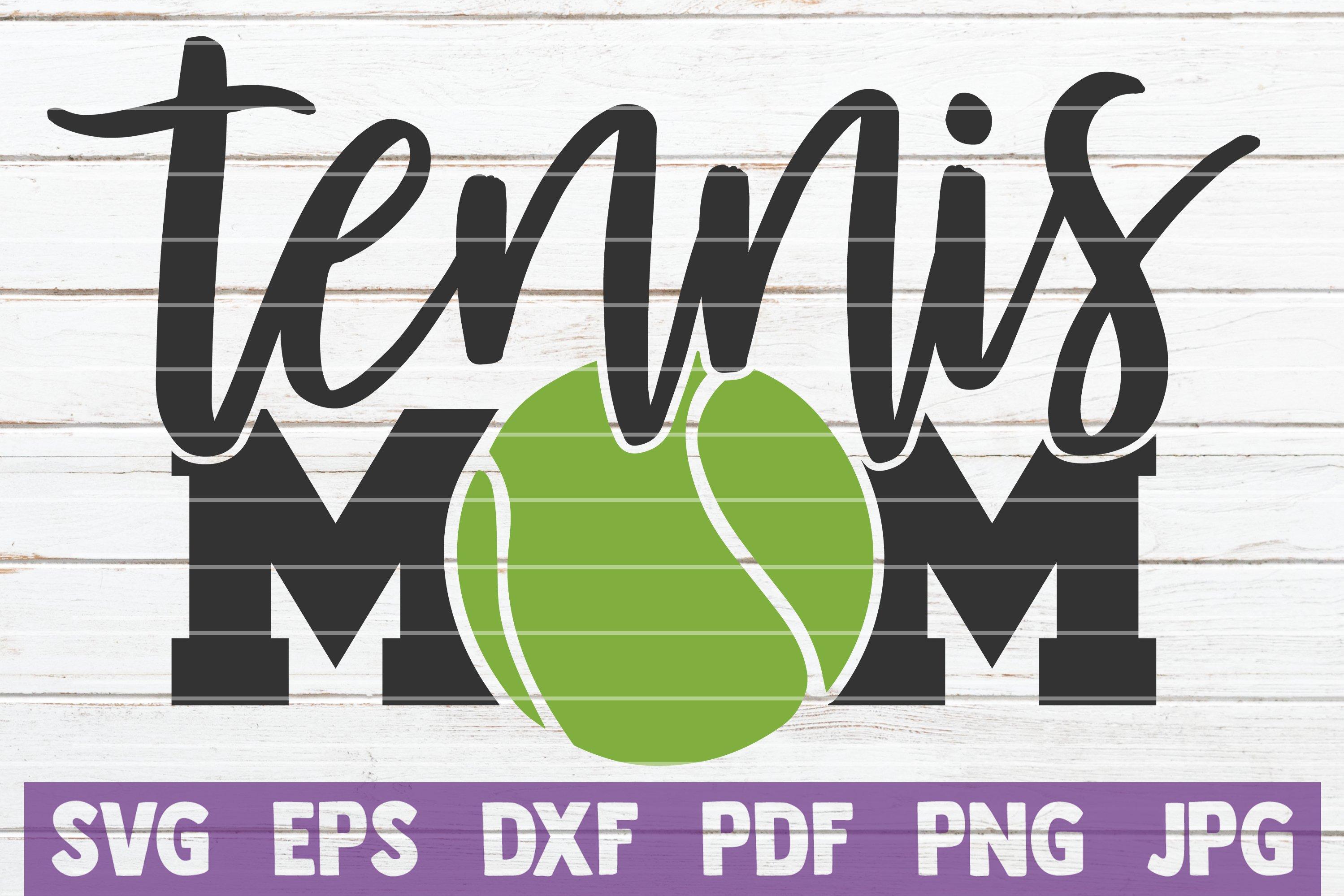 Tennis SVG Bundle | Tennis Mom SVG Cut Files example image 17