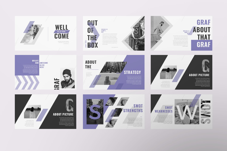 Graf Business Google Slide example image 6