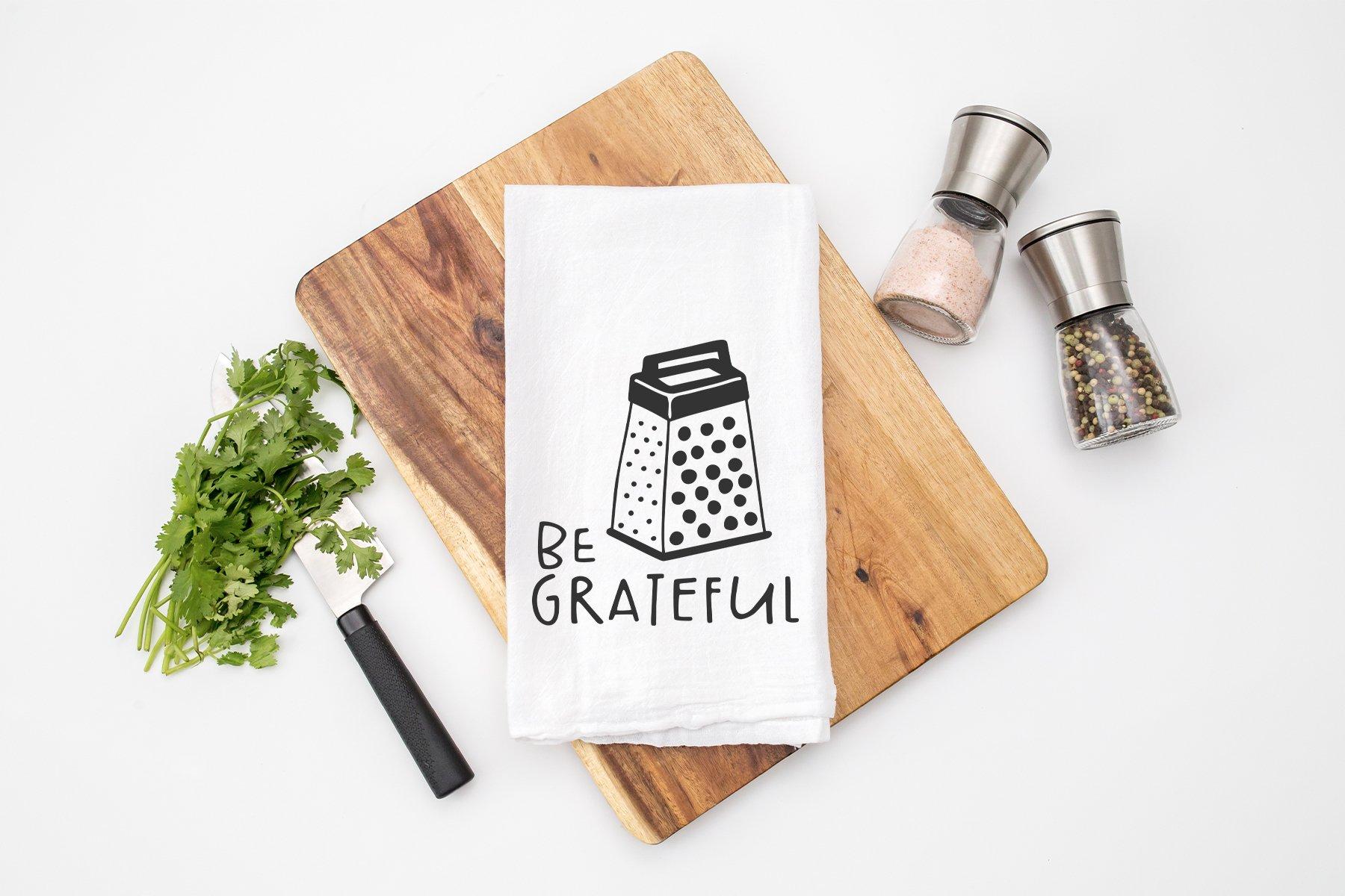 Be Grateful SVG | Kitchen Sign SVG example image 2