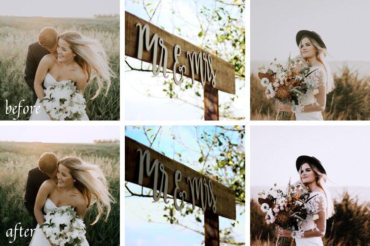 Wedding Mobile and Desktop Lightroom Presets example image 8