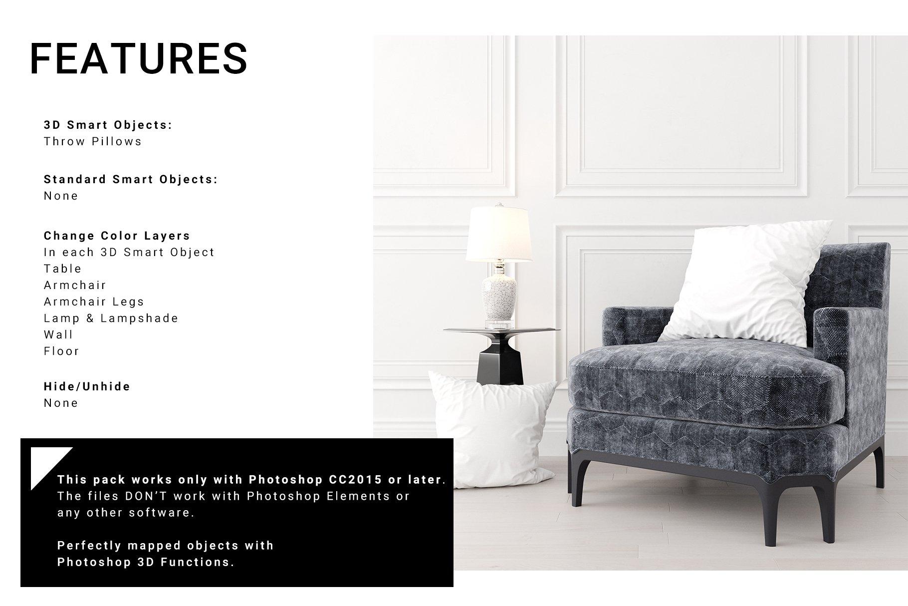 Luxury Interior Throw Pillows Set example image 10
