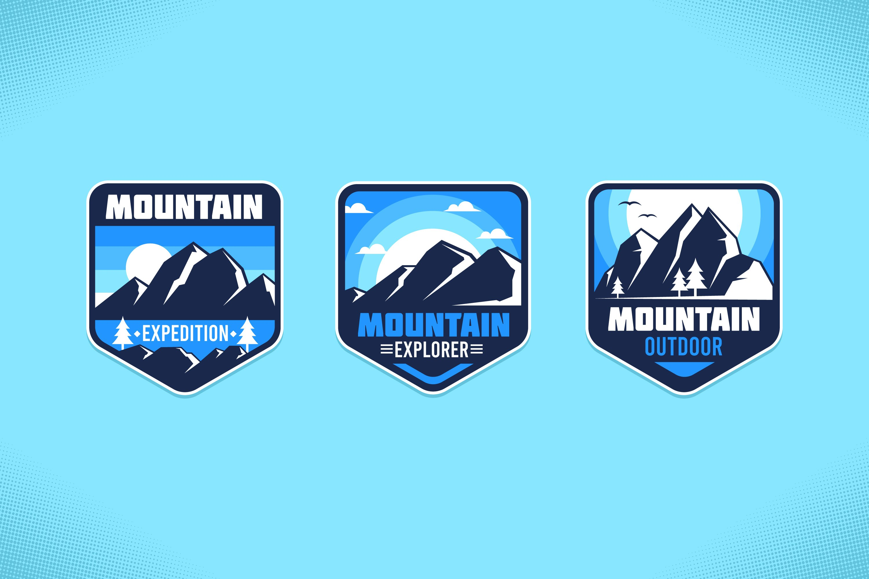 Snow Mountain Labels example image 1