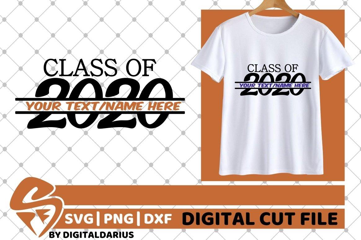 Class Of 2020 svg, Teacher, Grad svg, Graduation, Monogram example image 1