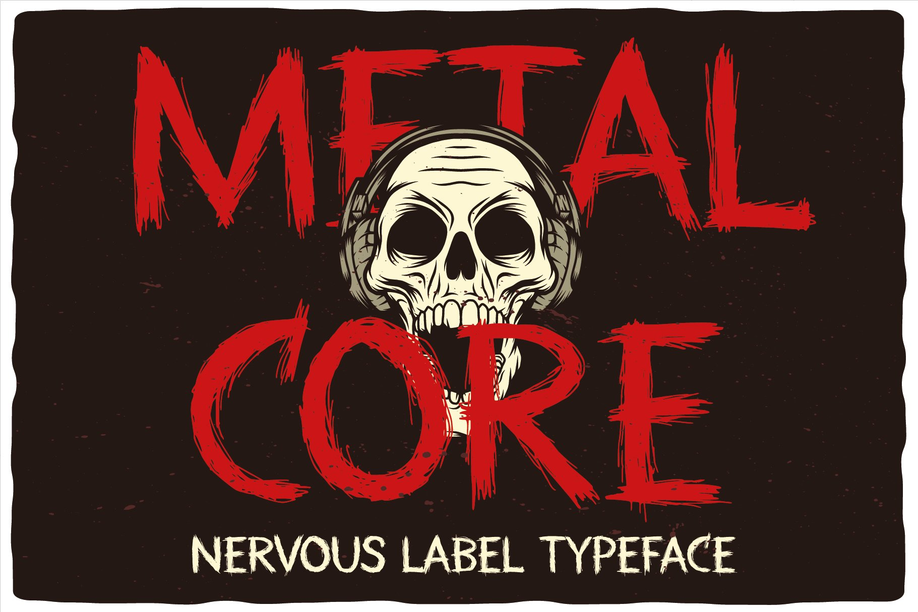 MetalCore Font Duo example image 3