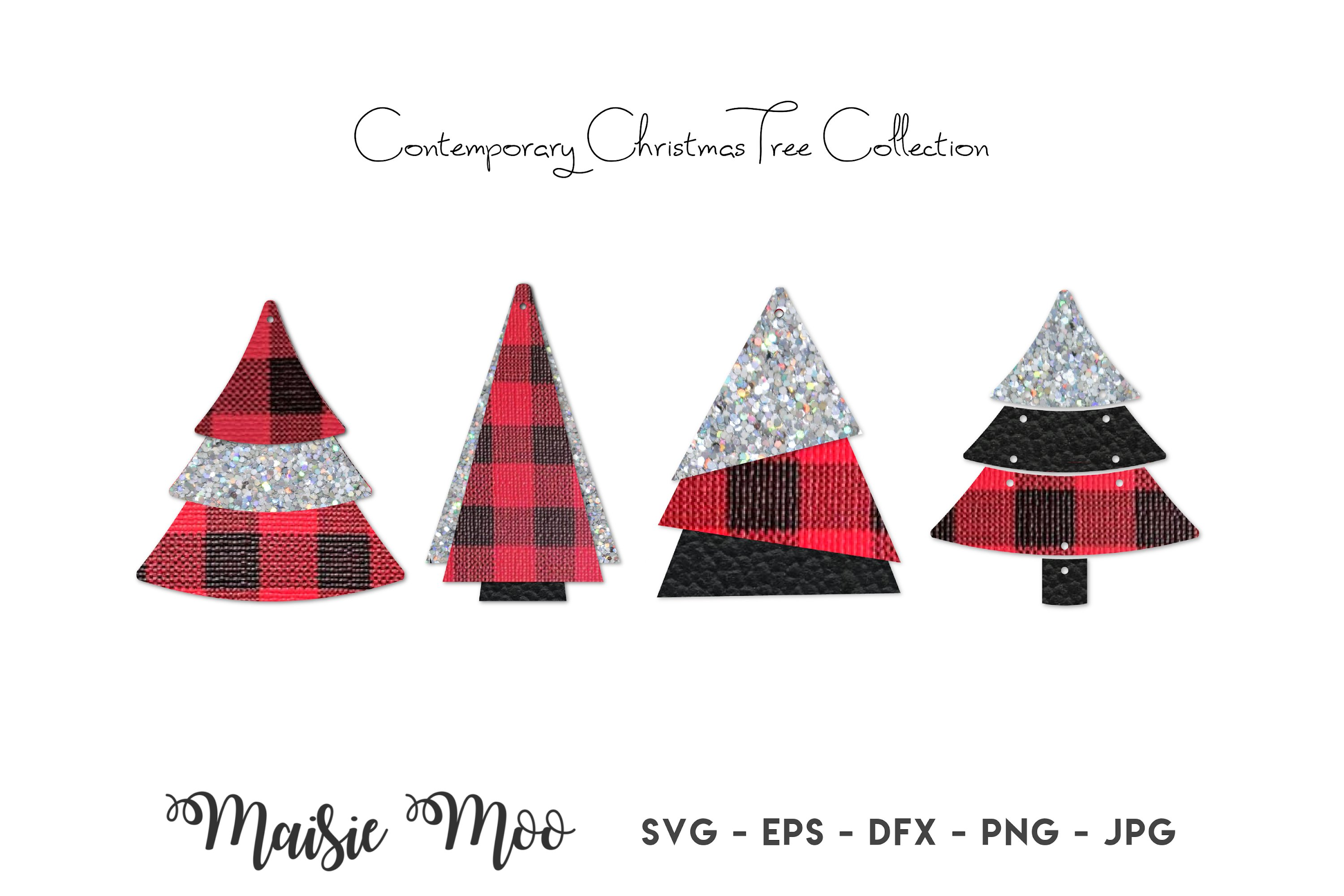 Christmas Earring Svg Faux Leather Tree Earrings Templates 1005125 Other Design Bundles