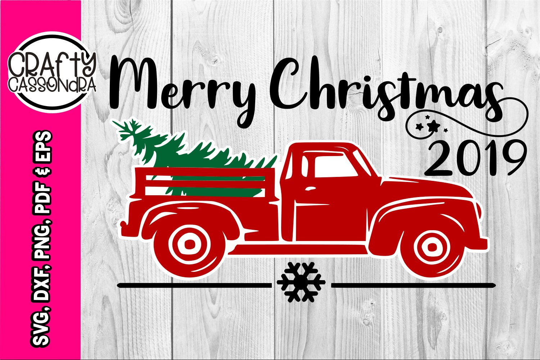 Christmas Truck Svg Vintage Pick Up Christmas Pickup 162481 Svgs Design Bundles