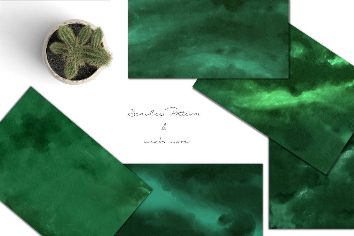 Green Textures example image 2
