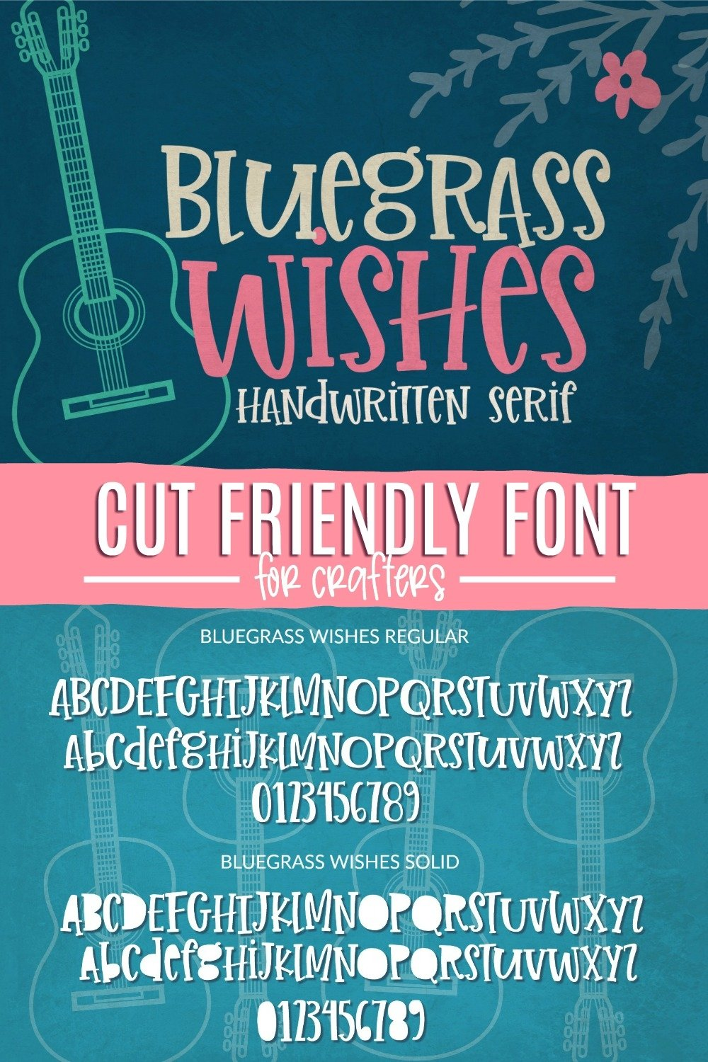 Bluegrass Wishes | Crafter Friendly Font example image 4