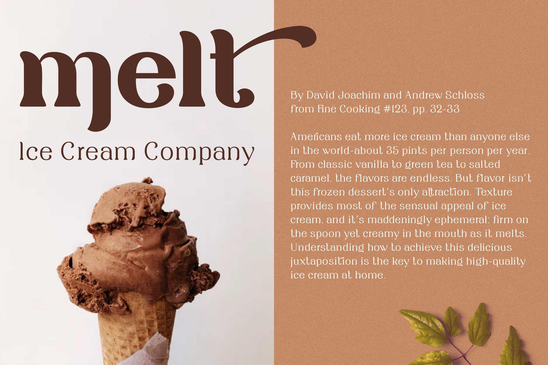 Rianti - beautiful serif font family example image 8