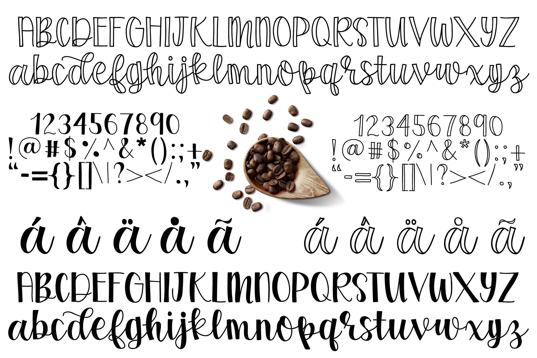 Coffee Grinder - Inline & Solid - Caps & Script example image 9