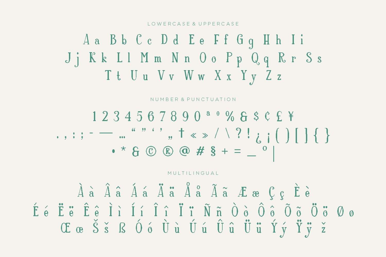 Rosalind - Beauty Display Font example image 5