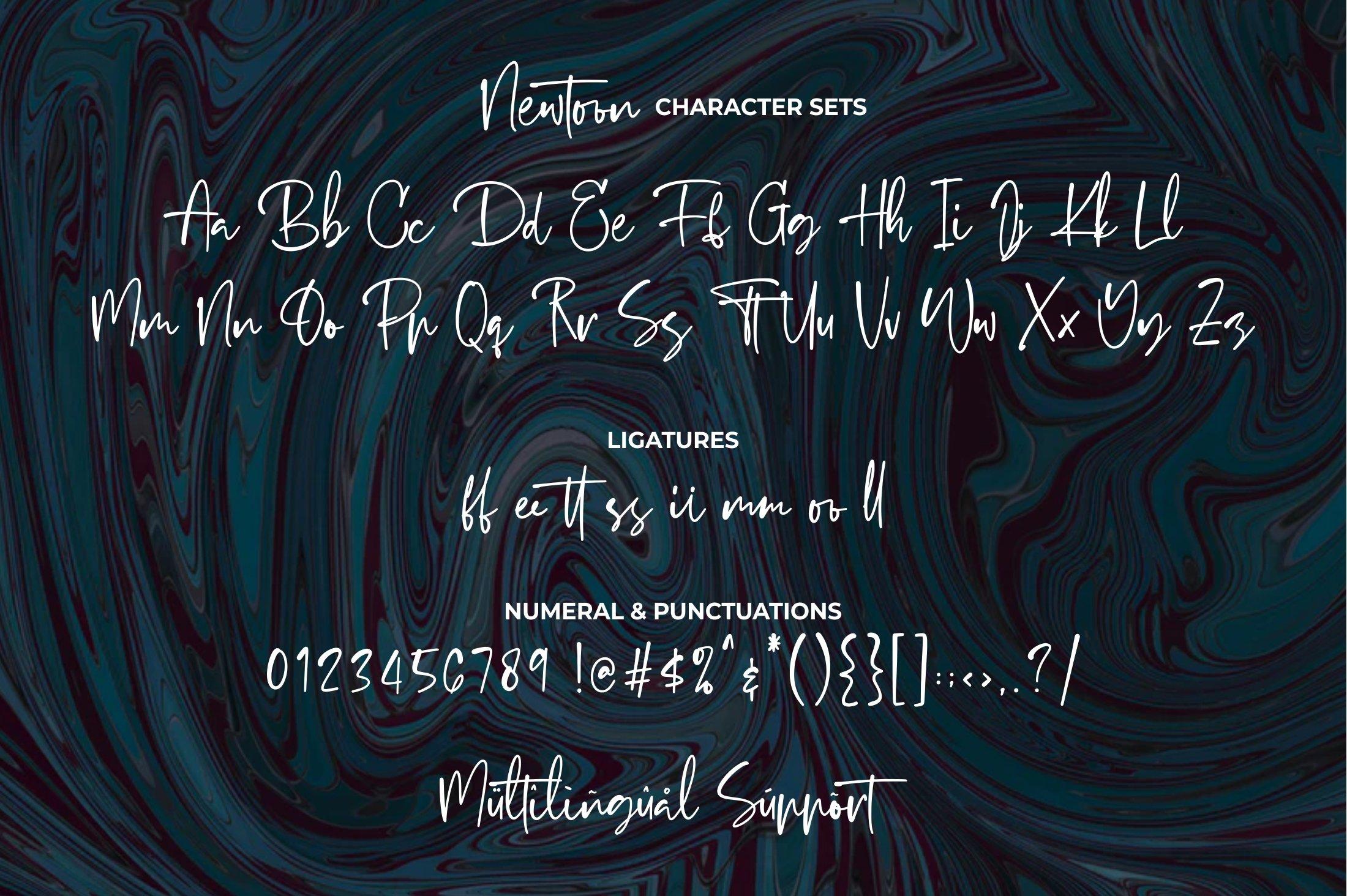 Newtoon - Handwritten Font example image 12