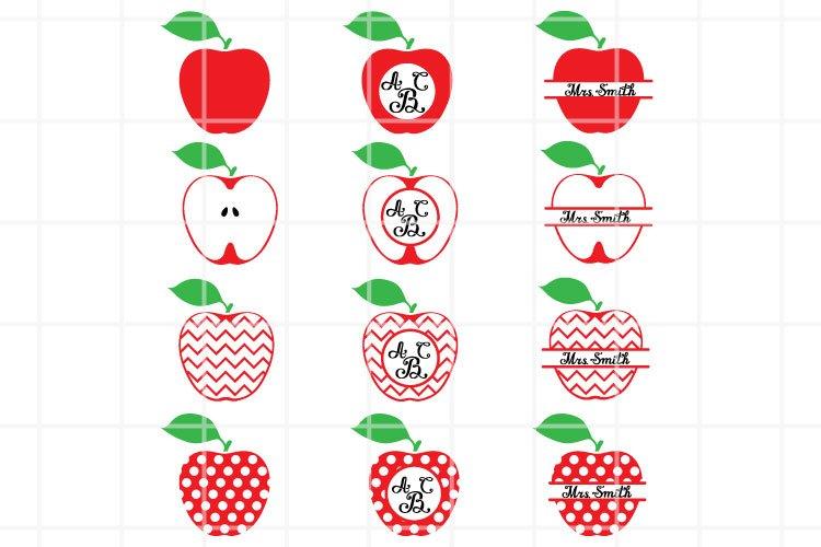 Apple SVG Digital File