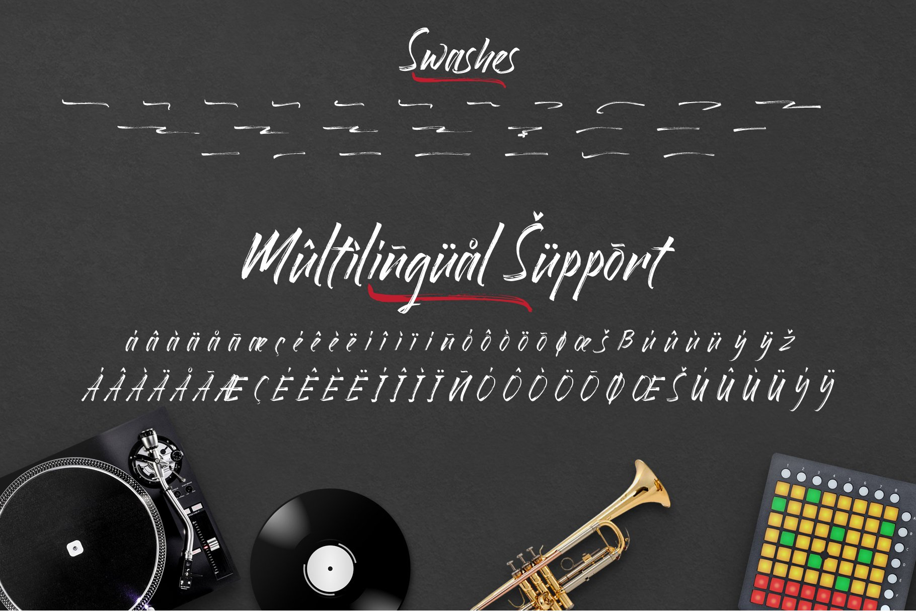 Rollingstand - Modern Brush Font example image 6