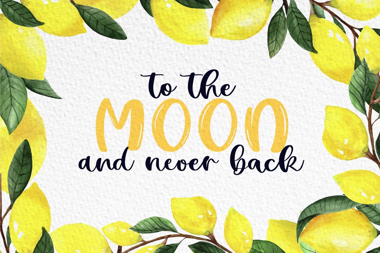Lemon Summer Font Duo example image 6
