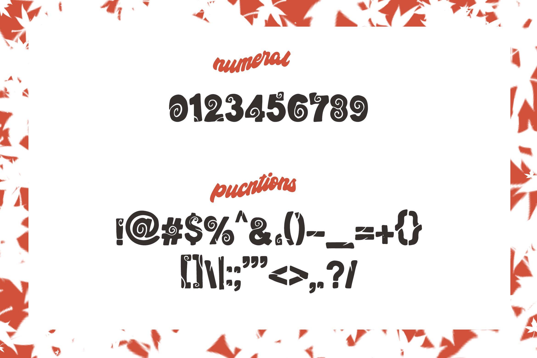 Wood Craft - Handmade Display Font example image 7