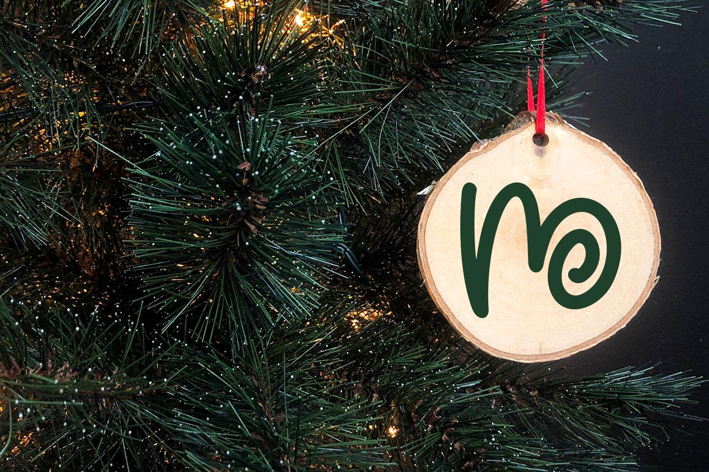 Christmas Love - Christmas Monogram Font example image 4