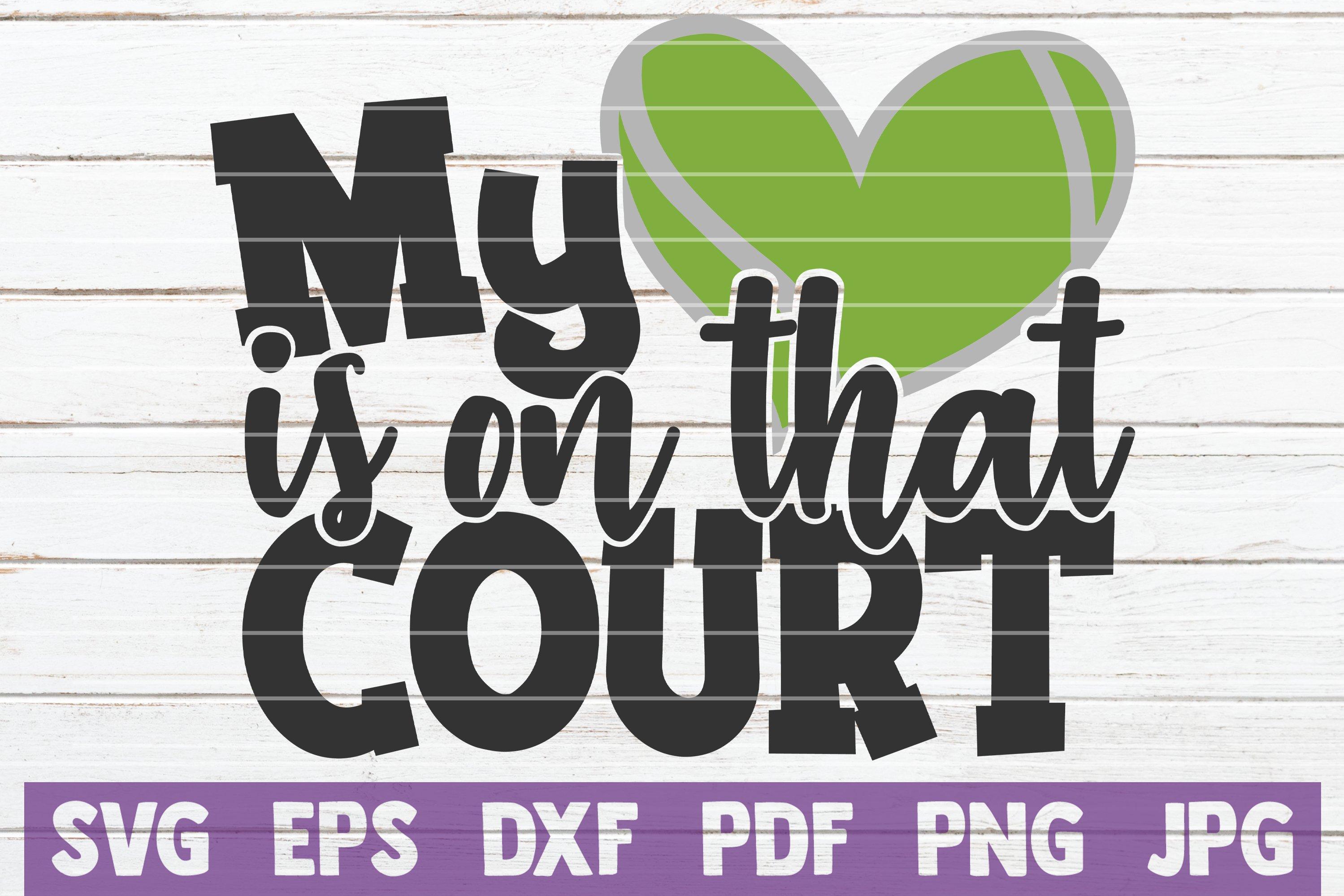 Tennis SVG Bundle | Tennis Mom SVG Cut Files example image 5