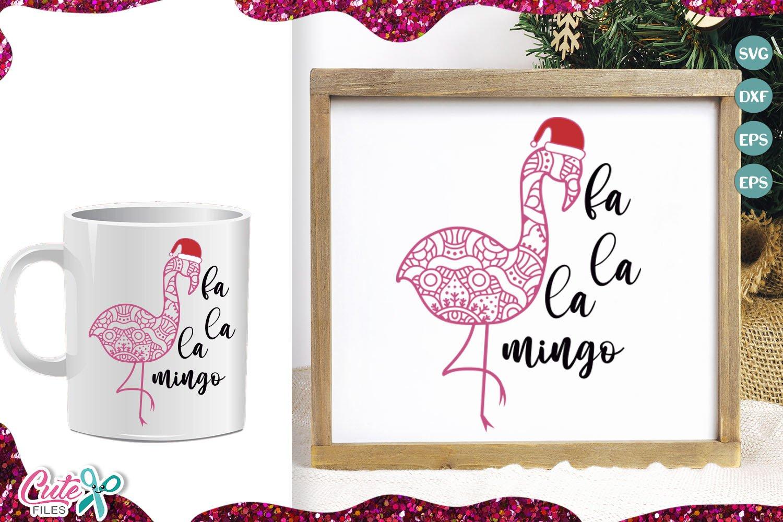 Christmas Mandala mini bundle SVG for crafters example image 4