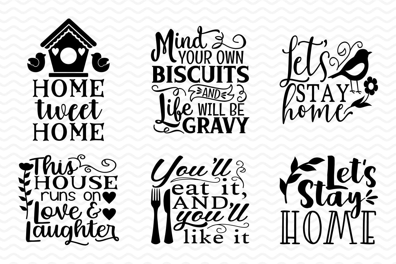 Home & Kitchen SVG bundle example image 4