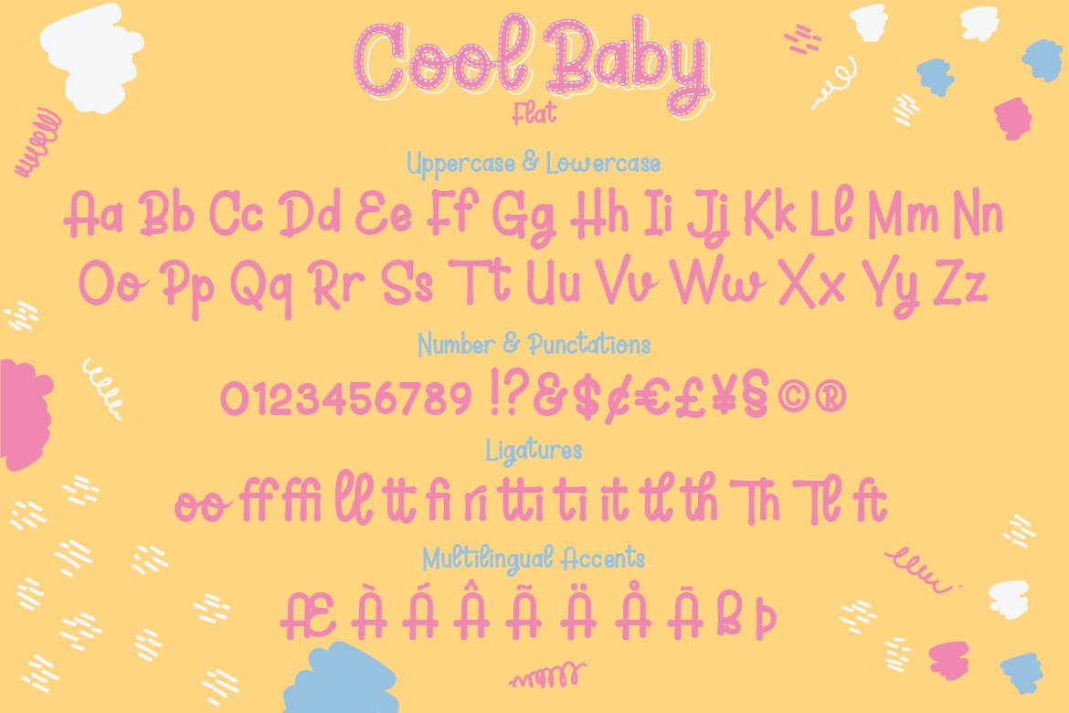 Cool Baby - A Fun Family Font example image 4