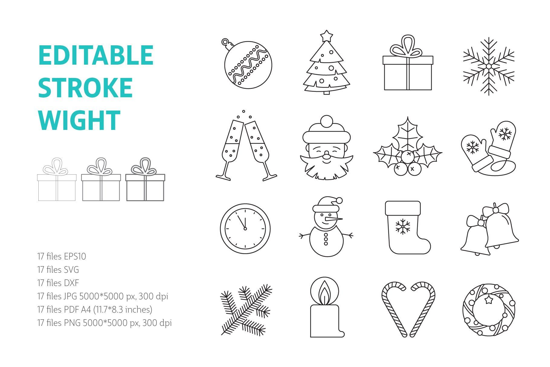 Christmas Icons Vol.1 example image 2