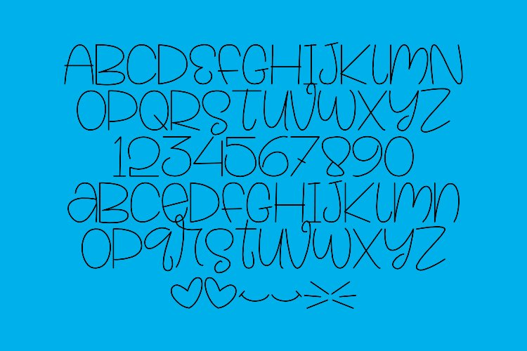Tooline - Single Line - Hair Line Font example image 4