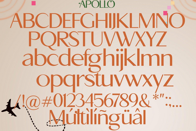 Apollo Sans Serif Font example image 6