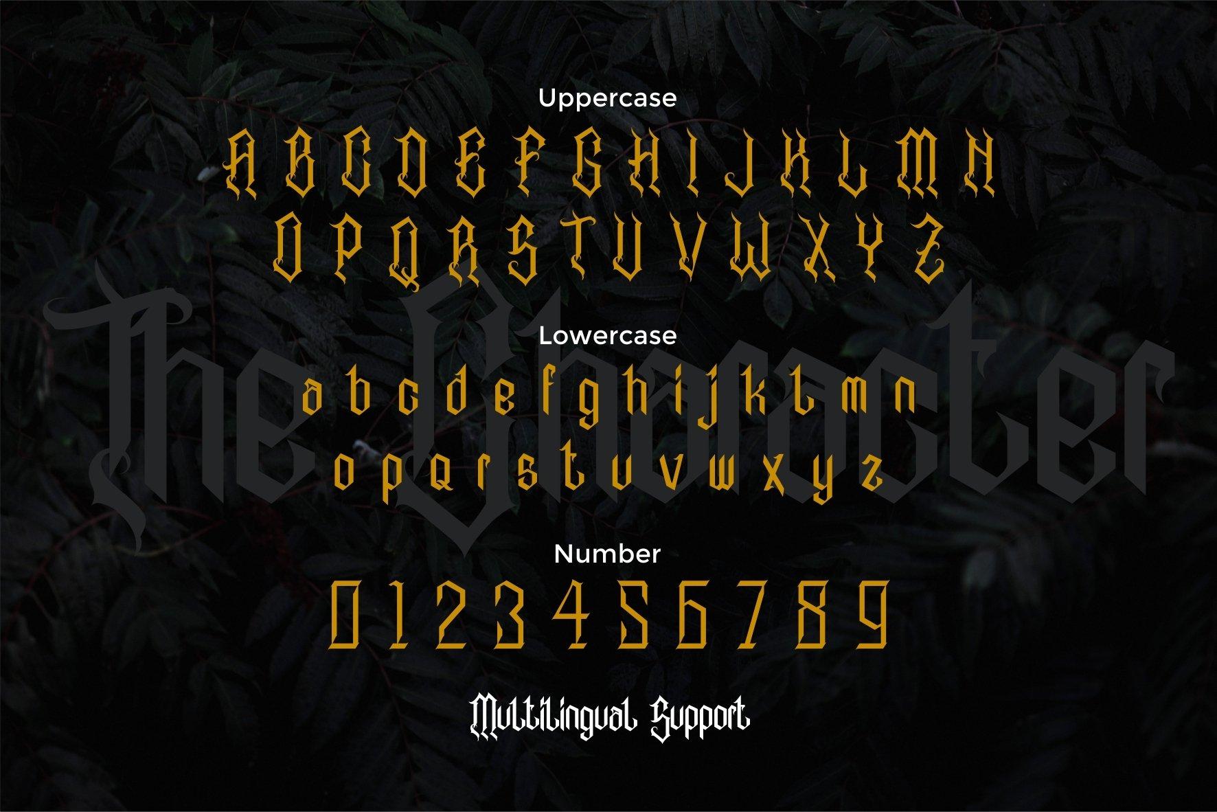 Alabasta - The Blackletter Font example image 8