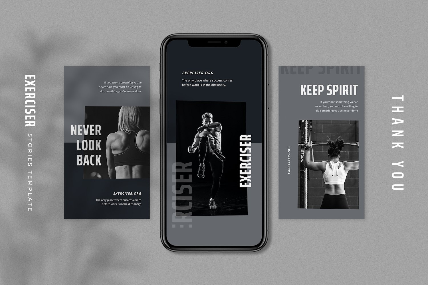 Exerciser - Gym & Fitness Instagram Stories Template example image 4