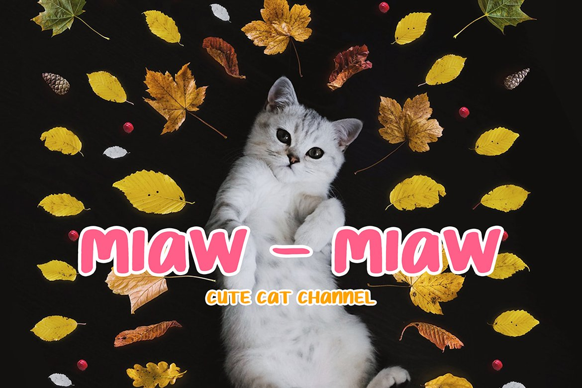 Chimoly Cute Display Font example image 2