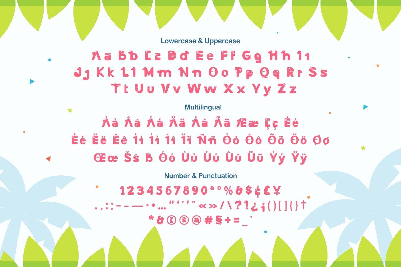 Dino Land - Playful Display Typeface example image 5