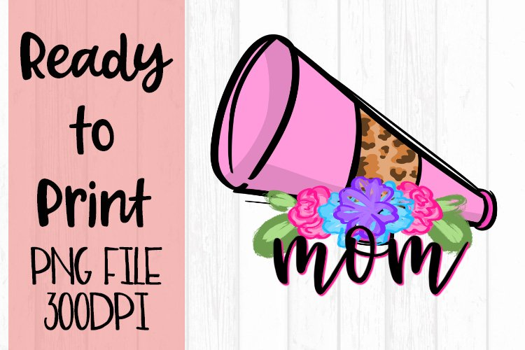 Doodle Mom Cheer Ready to Print example image 1
