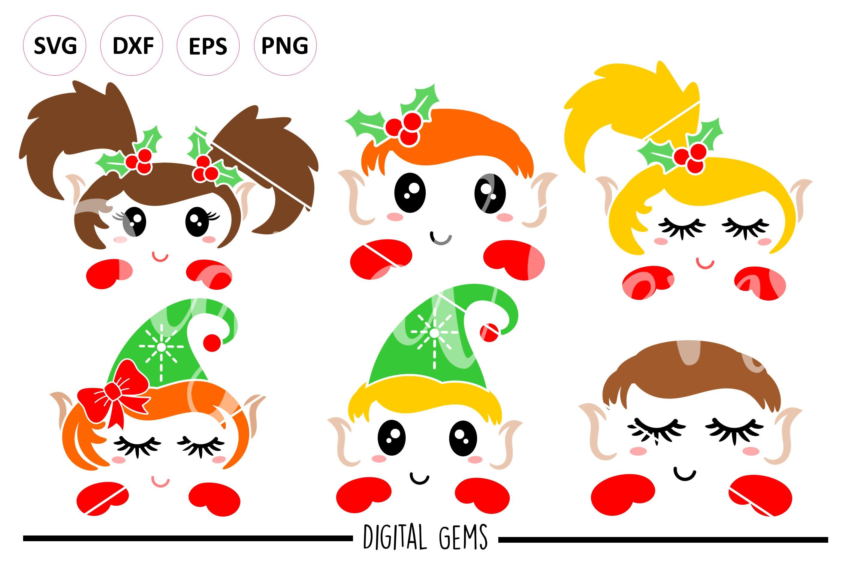 Elf Elves Svg Png Eps Dxf Files 117195 Svgs Design Bundles