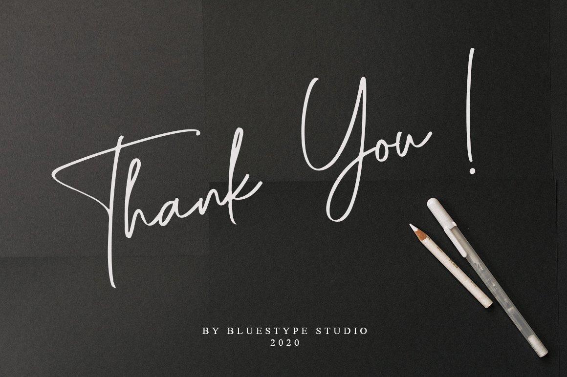 Raflessia - Elegant Signature Font example image 7