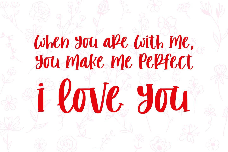 romantic stories - handcraft font - example image 2