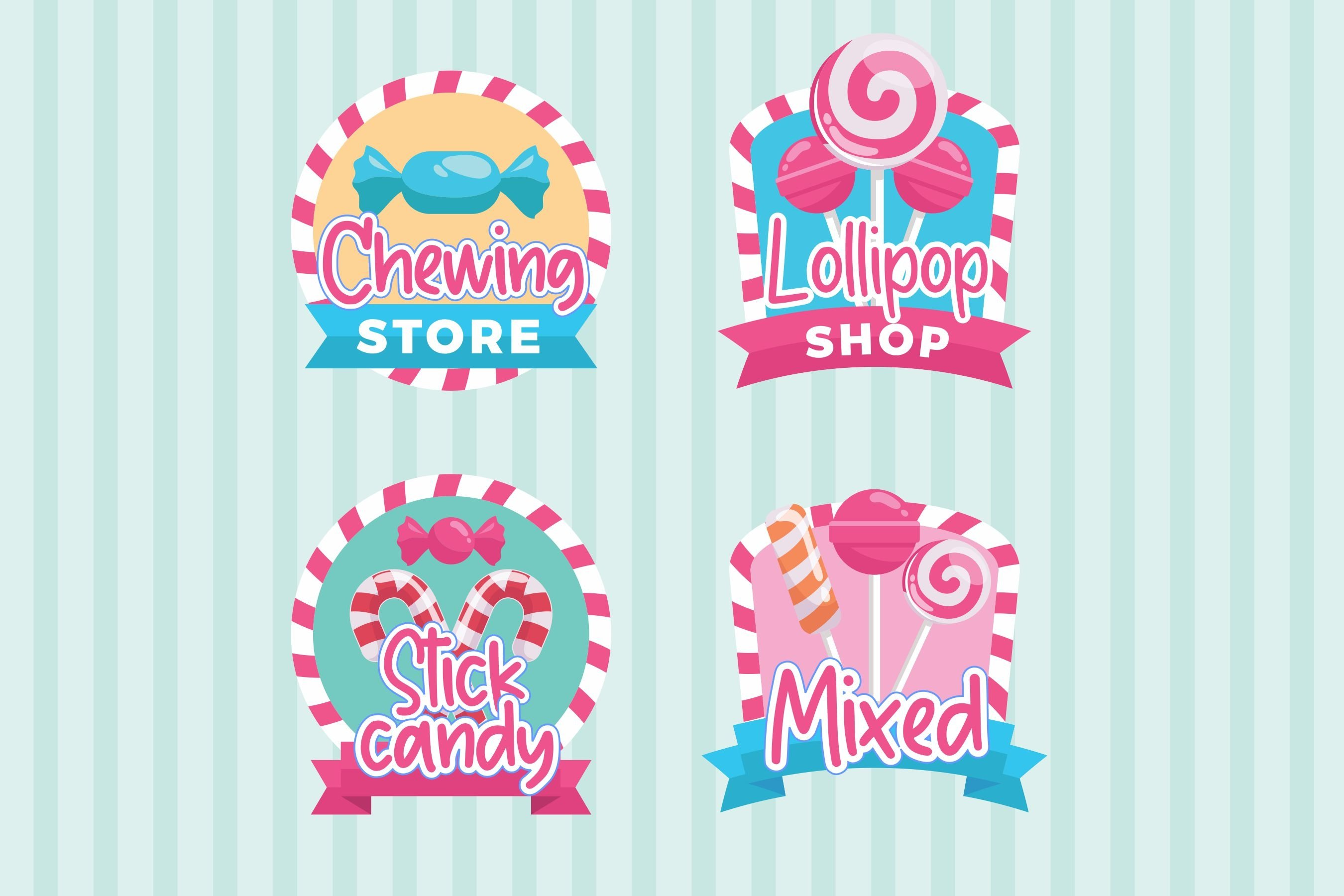 Candycane Playful Handwritten Font example image 2